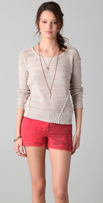 Splendid Tape Yarn Stripe Sweater