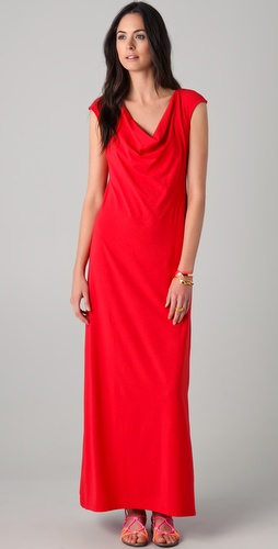 Splendid Cowl Maxi Dress