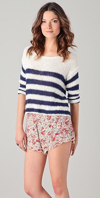 Splendid Paris Stripe Sweater