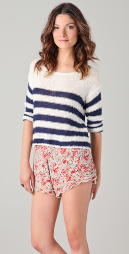 Splendid Paris Stripe Sweater
