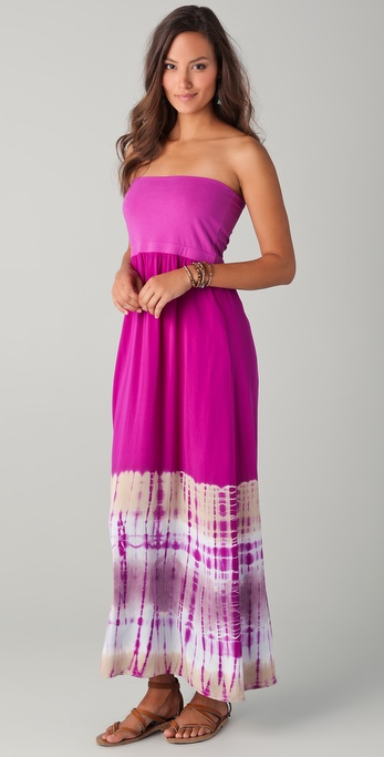 Splendid Circus Dye Maxi Skirt / Dress