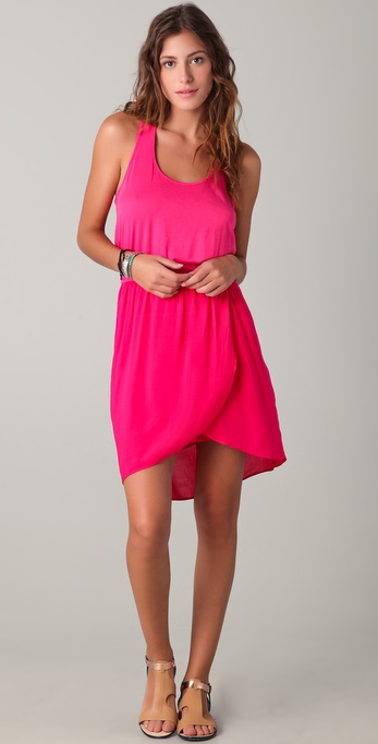 Splendid Elastic Waist Tank Dress