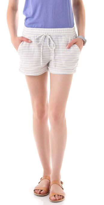 Splendid Double-Faced Stripe Shorts