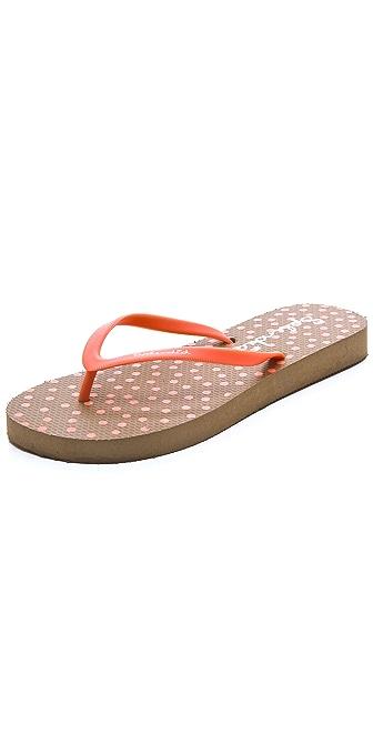 Splendid Sunday Rubber Flip Flops