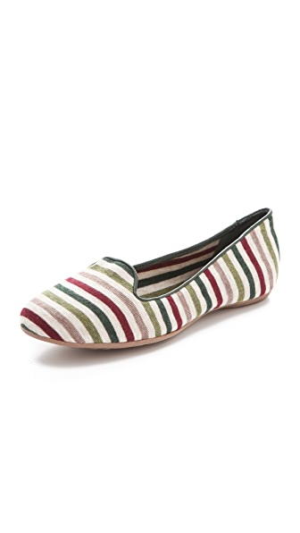 Splendid Cannes Striped Smoking Shoe