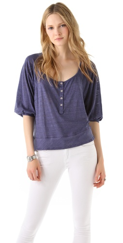 Splendid Seaside Slub Top