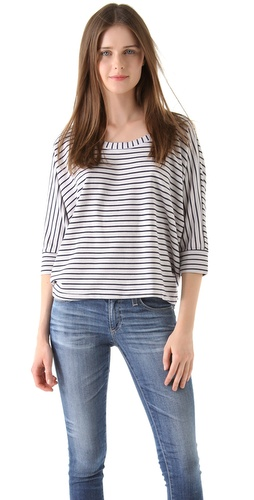 Splendid Mini Breton Stripe Tee