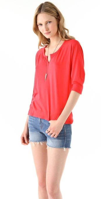 Splendid Very Light Jersey Blouse