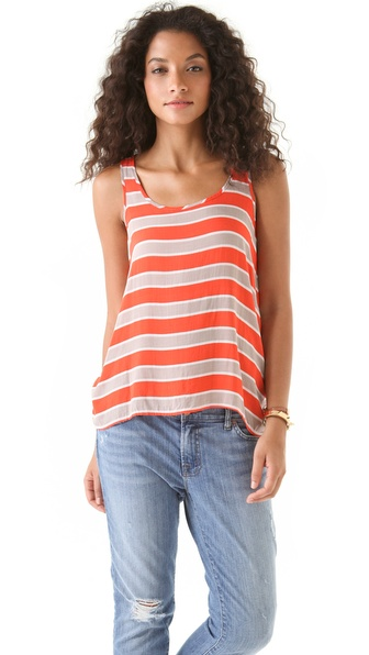 Splendid Chesapeake Rugby Stripe Tank Top