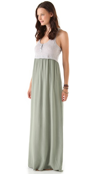 Splendid Solid Maxi Dress