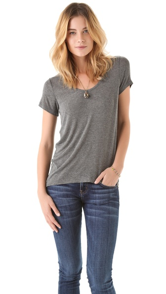Splendid Drapey Lux Tee