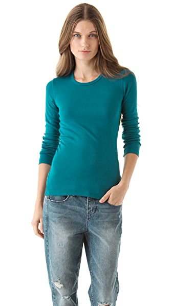 Splendid 1x1 Long Sleeve Tee