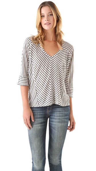 Splendid Vienna Striped Tee