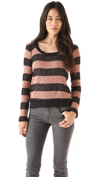 Splendid Bristol Striped Sweater