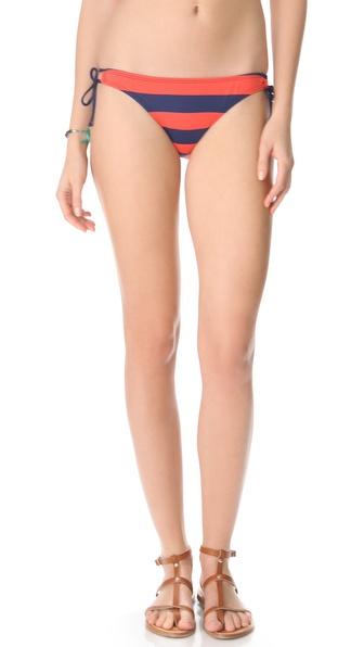 Splendid Marcel Stripe Tunnel Bikini Bottoms