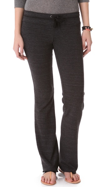 Splendid Heather Fleece Drawstring Pants