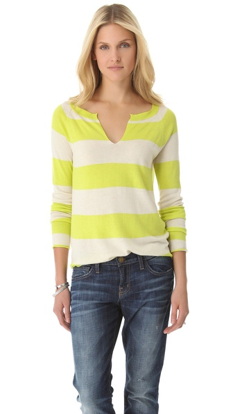 Splendid Cozy Rugby Stripe Pullover