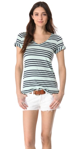 Splendid Capri Stripe Tee at Shopbop.com