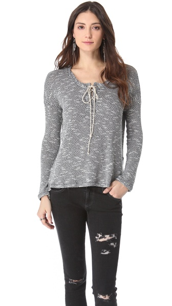 Splendid Key West Loose Knit Pullover