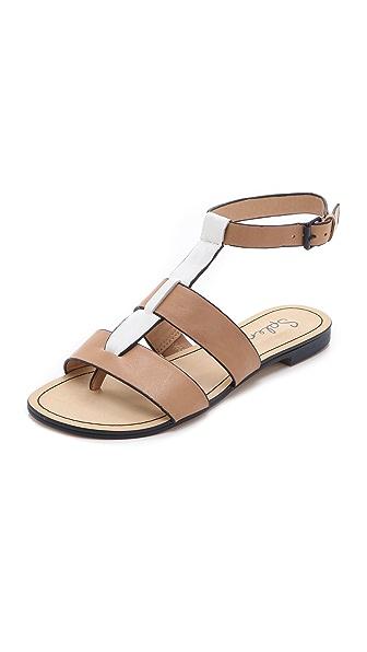 Splendid Capitola T-Strap Sandals