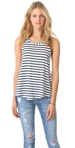 Splendid Miami Stripe Tank at Shopbop.com