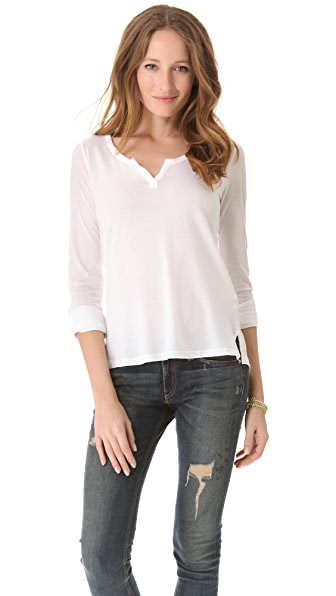 Splendid Very Light Jersey Henley