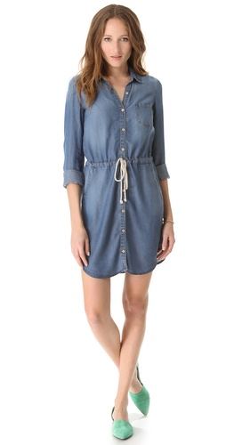 Splendid Indigo Chambray Dress at Shopbop image