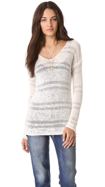 Splendid Chantilly Tape Yarn Sweater