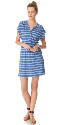 Shop Splendid Double French Stripe Dress - Splendid online - Apparel,Womens,Dresses,Day, at Lilychic Australian Clothes Online Store