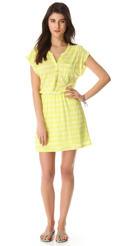 Shop Splendid Double French Stripe Dress and Splendid online - Apparel,Womens,Dresses,Day, online Store