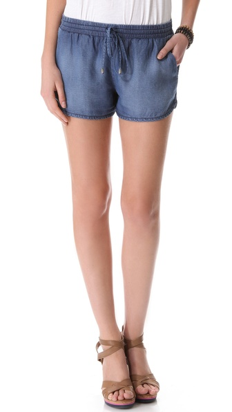Splendid Chambray Shorts
