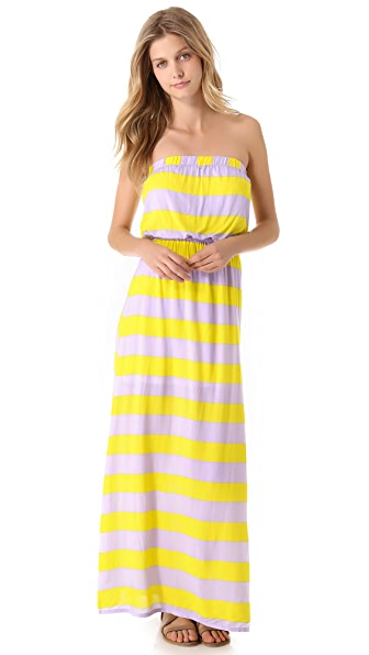 Splendid Magnolia Stripe Maxi Dress