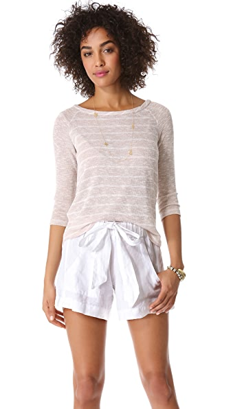 Splendid Caspian Loose Knit Top