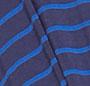 Blue Un-Even Stripe