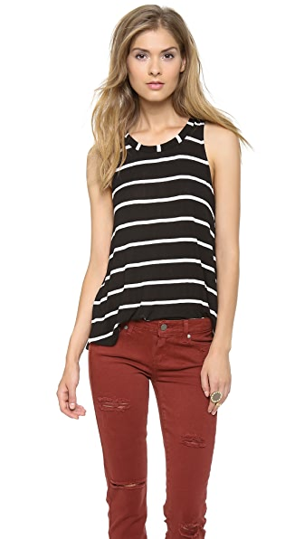 Splendid Brooklyn Stripe Drapey Lux Tank