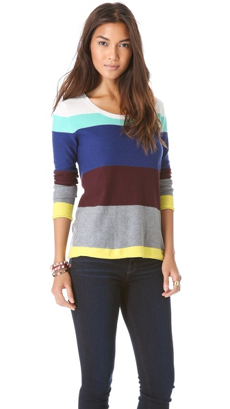 Splendid Brighton Stripe Sweater