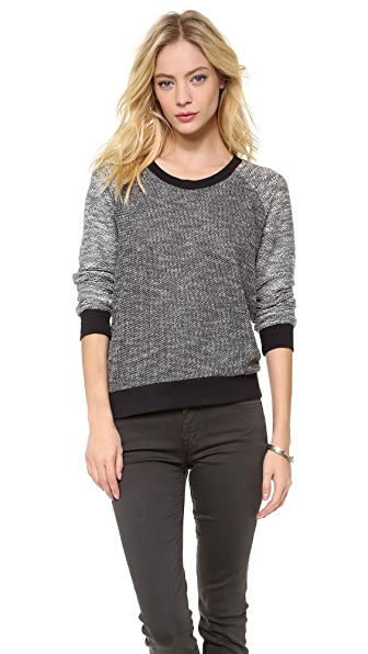 Splendid Boucle Active Sweater