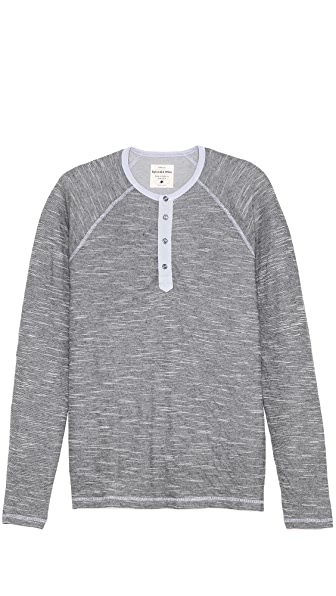 Splendid Slub Double Face Henley