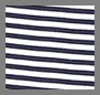 Navy Mini Stripe