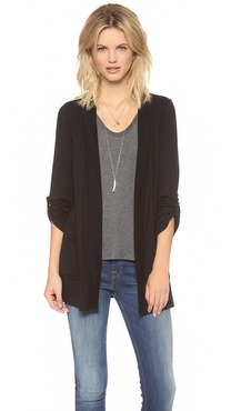 Splendid 1x1 Pocket Cardigan