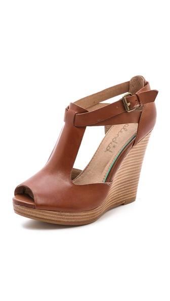 Splendid Back Bay Wedge Sandals