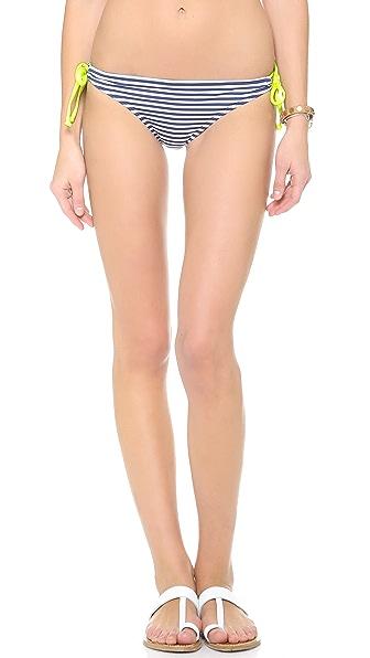 Splendid Malibu Stripe Tunnel Bikini Bottoms