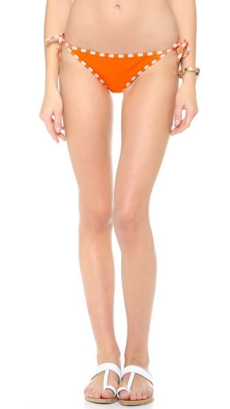 Splendid Miami Stripe Tie Side Bikini Bottoms