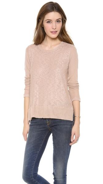 Splendid Las Palmas Loose Knit Pullover