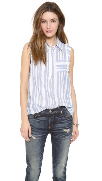 Splendid Oasis Stripe Shirt