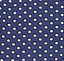 Navy/White Pindot