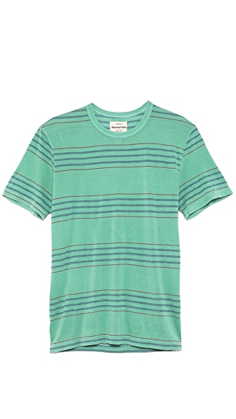 Splendid Denim Stripe T-Shirt
