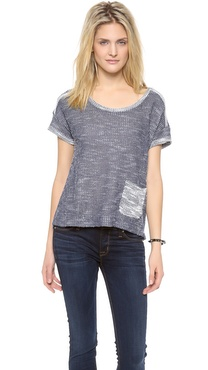Splendid Shoreline French Terry Tee