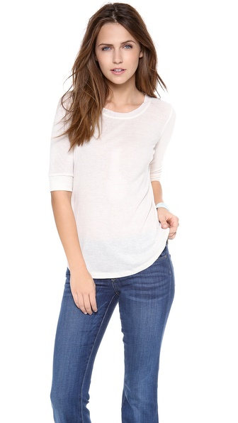 Splendid Feather Rib Tee