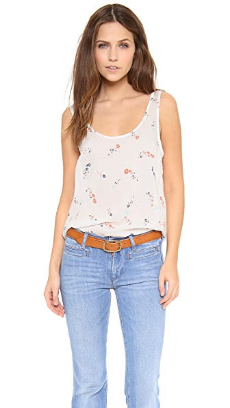 Splendid California Poppies Tank